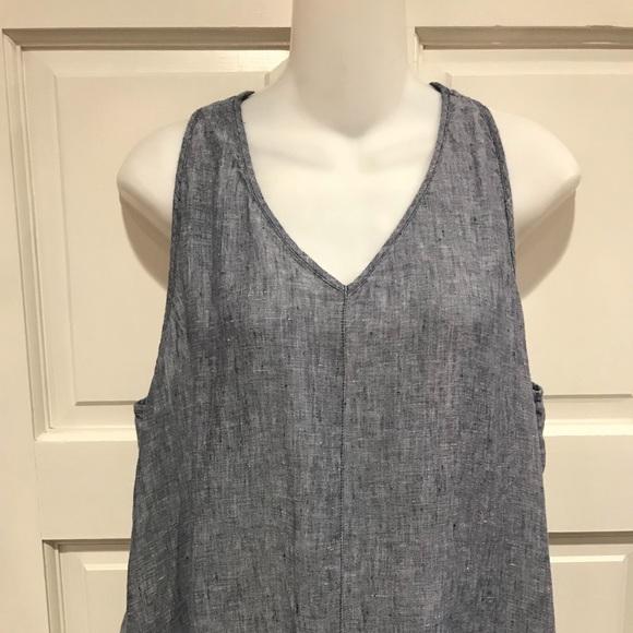 1ead2c180ef Artisan Ny Dresses   Skirts - Artisan NY Size 12 Linen Blue Maxi Dress